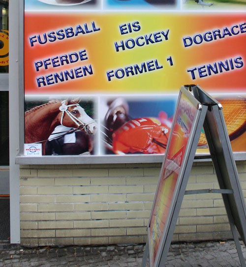 Hockey-Pferde